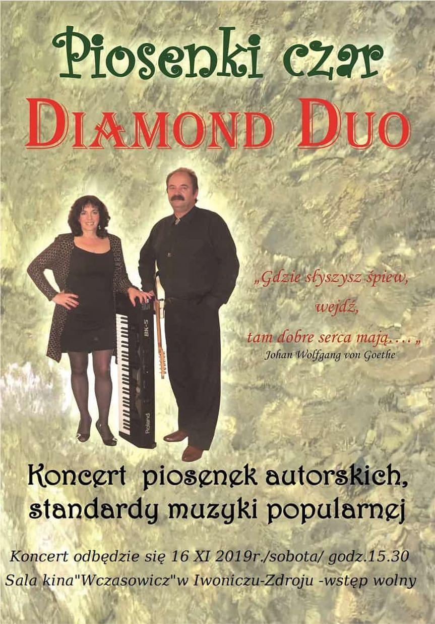 "Koncert ""Piosenki czar"" zespołu Diamond Duo"