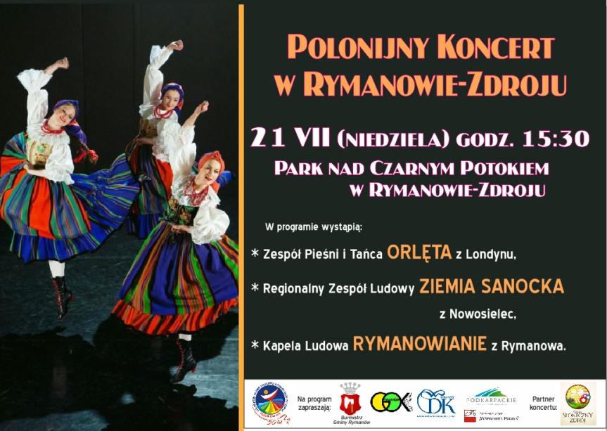Koncert Polonijny w Rymanowie-Zdroju
