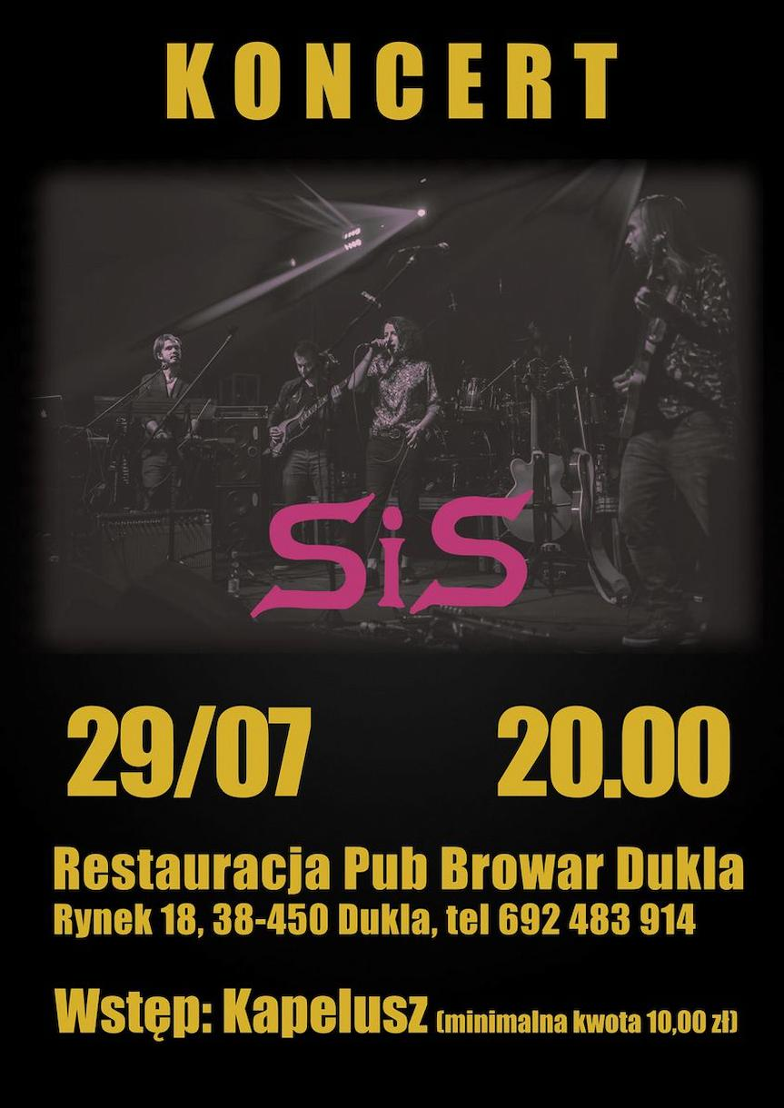 Koncert SiS w Restauracji Pub Browar Dukla