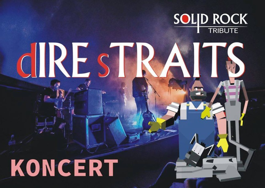 Koncert Solid Rock - tribute Dire Straits