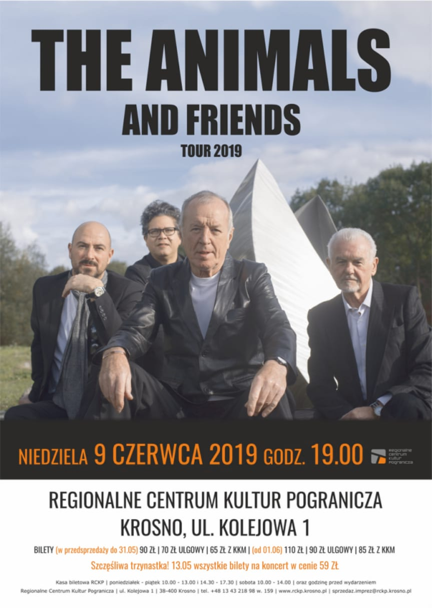 Koncert The Animals and Friends