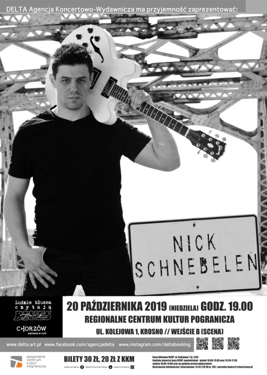 Koncert za kurtyną: Nick Schnebelen