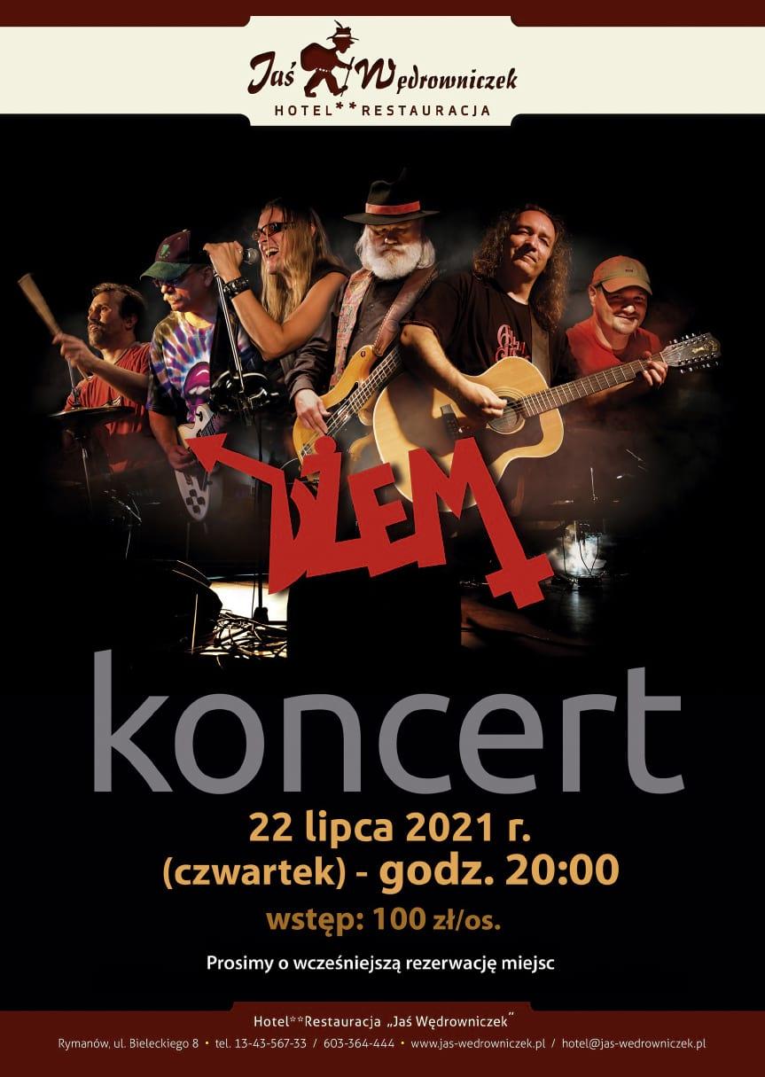 Koncert zepołu Dżem w Jasiu Wędrowniczku