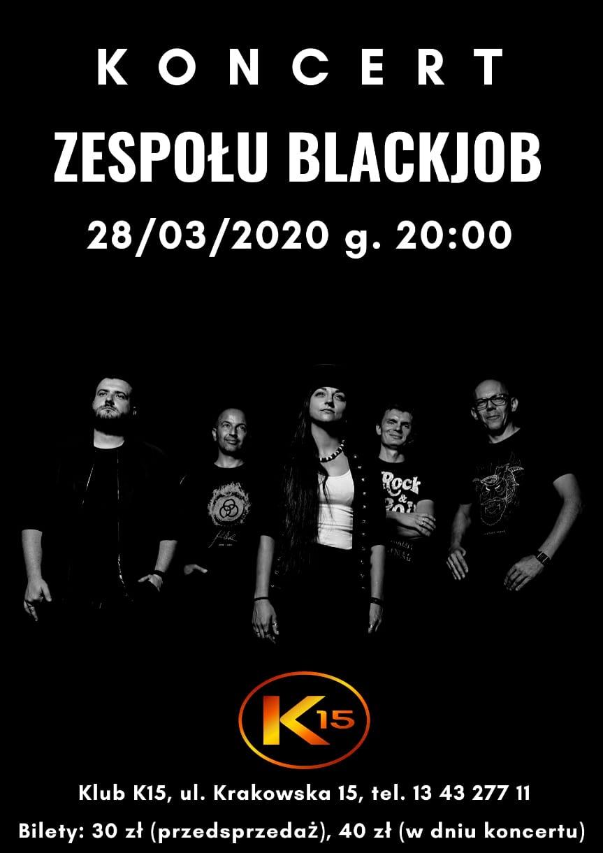 Koncert zespołu BlackJob