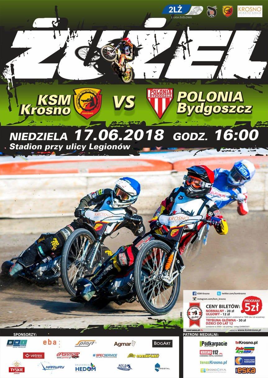 KSM Krosno - Polonia Bydgoszcz