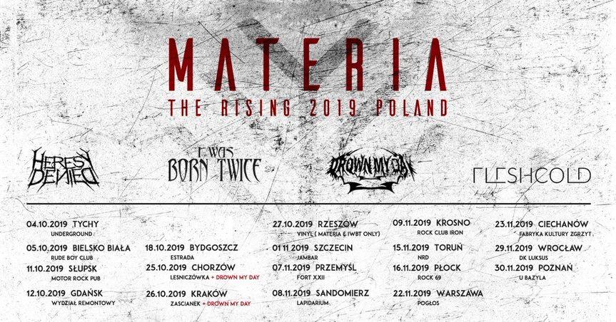 Materia - The Rising Tour 2019 - Krosno
