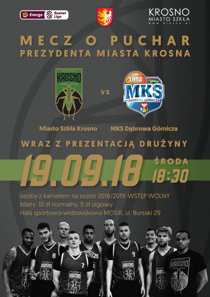 Miasto Szkła Krosno - MKS Dąbrowa Górnicza