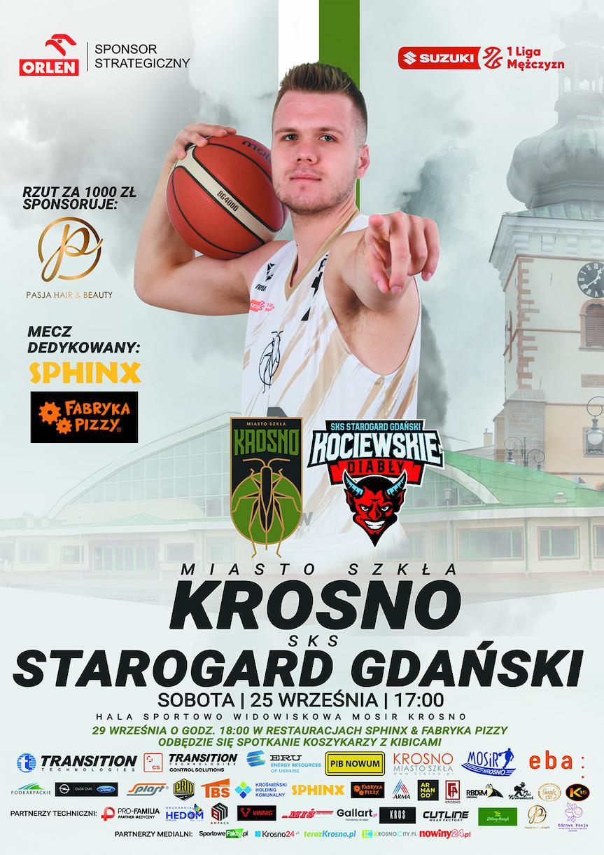 Miasto Szkła Krosno - SKS Starogard Gdański