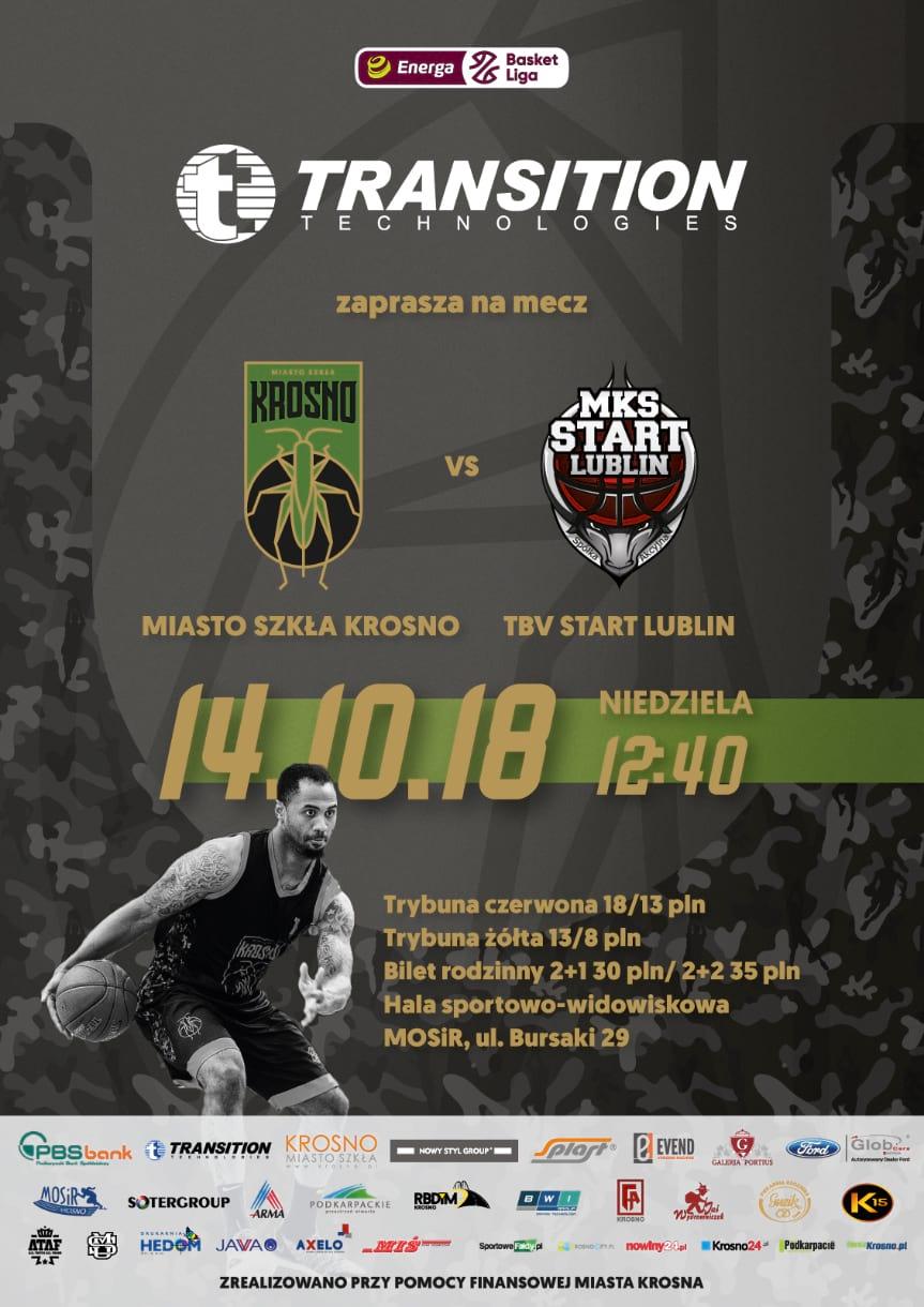 Miasto Szkła Krosno - TBV Start Lublin