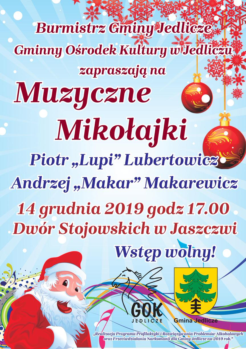 Muzyczne Mikołajki w Jaszczwi