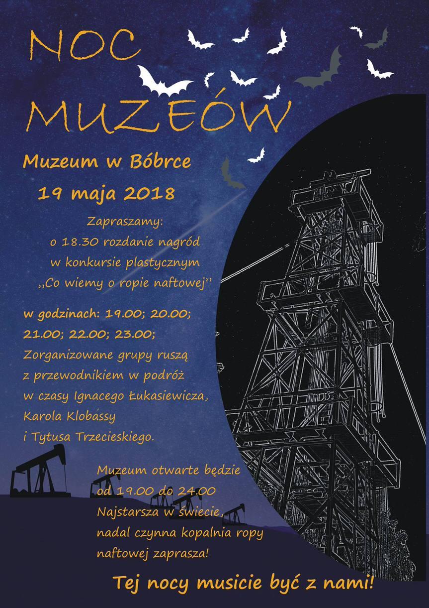 Noc Muzeów - Muzeum w Bóbrce