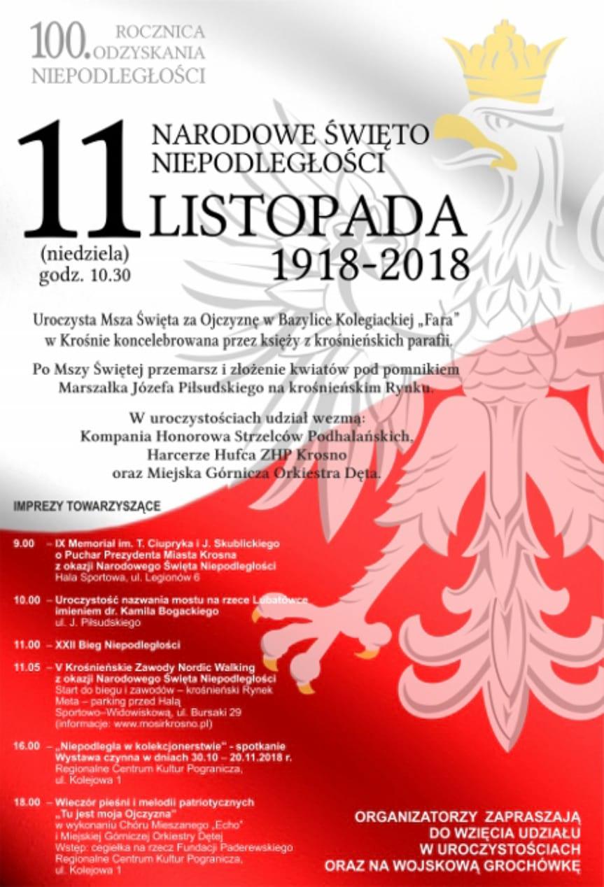 Obchody Święta Niepodległości w Krośnie
