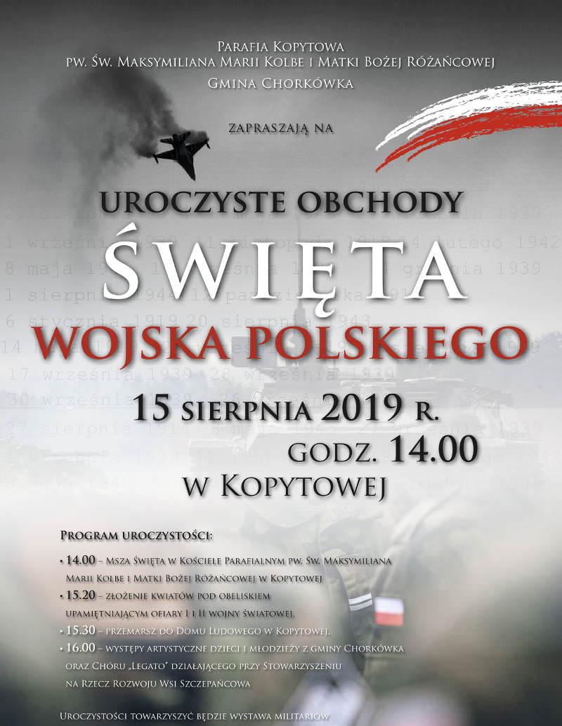 Obchody Święta Wojska Polskiego w Kopytowej