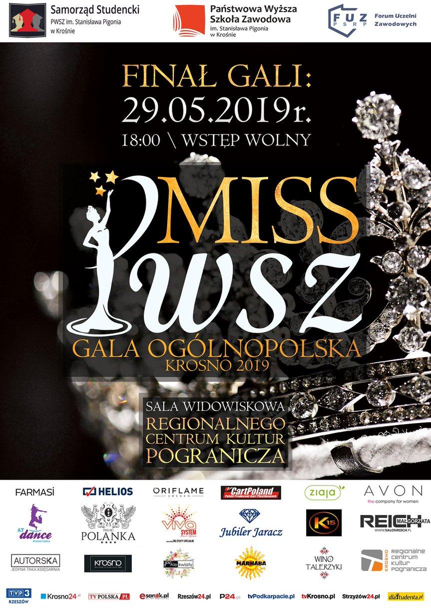 Ogólnopolska Gala MISS PWSZ