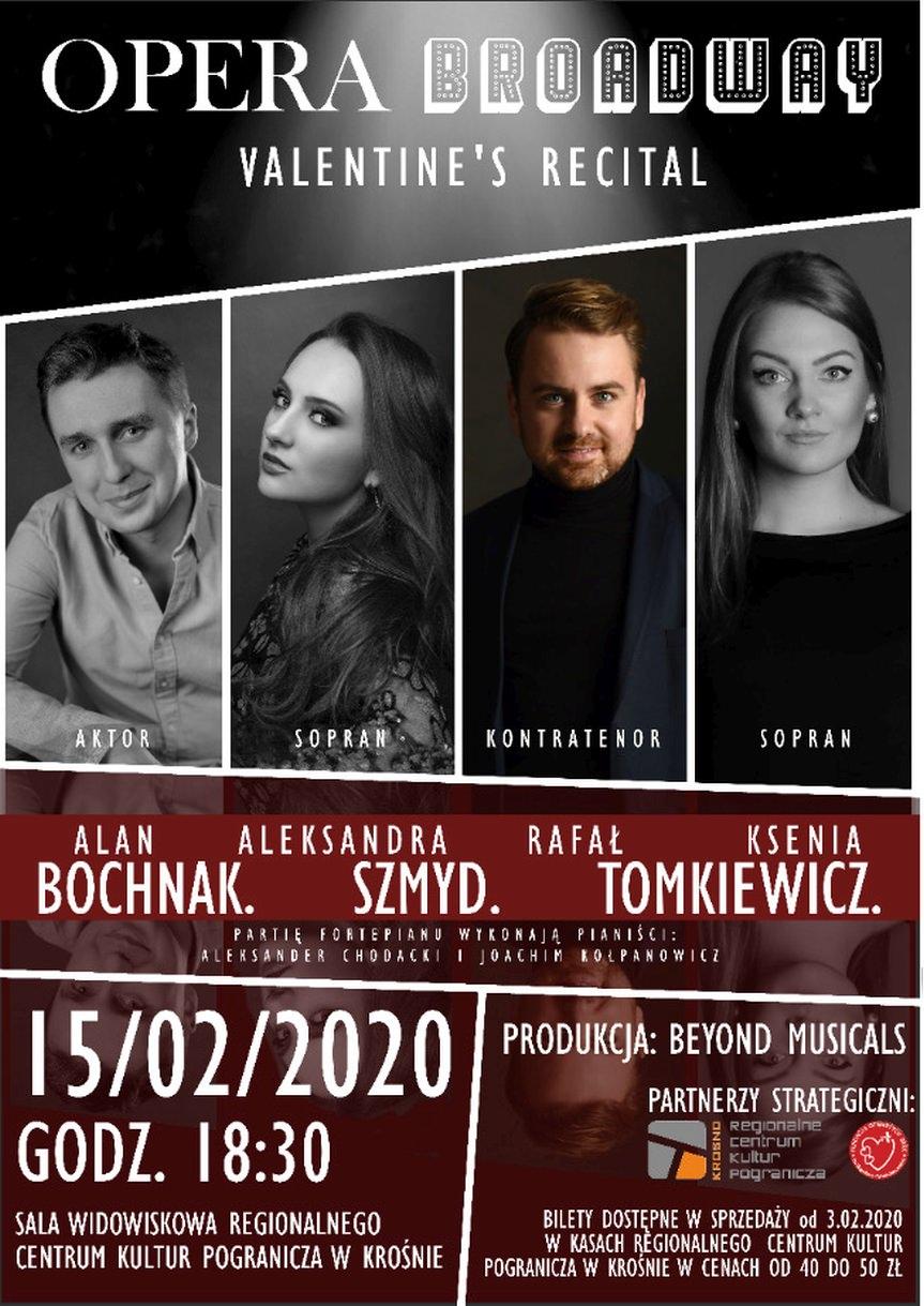 Opera Broadway Recital! Bochnak. Szmyd. Tomkiewicz