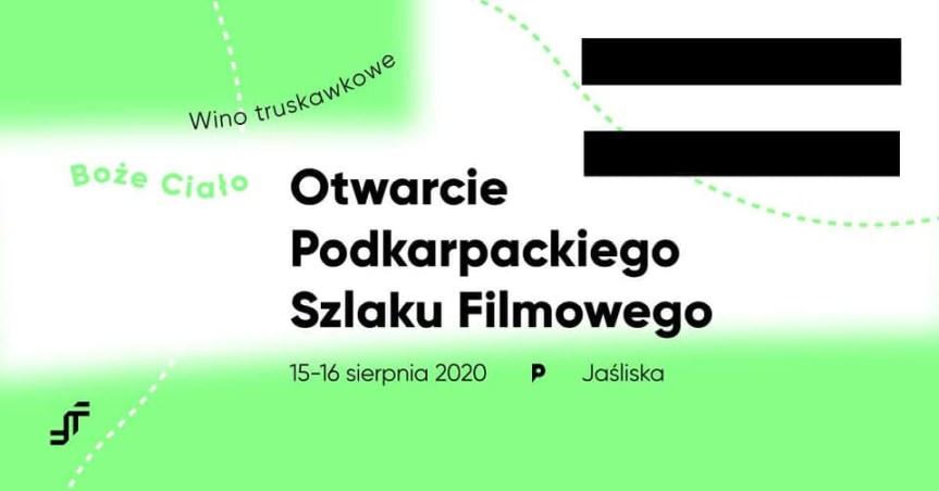 Otwarcie Podkarpackiego Szlaku Filmowego w Jaśliskach