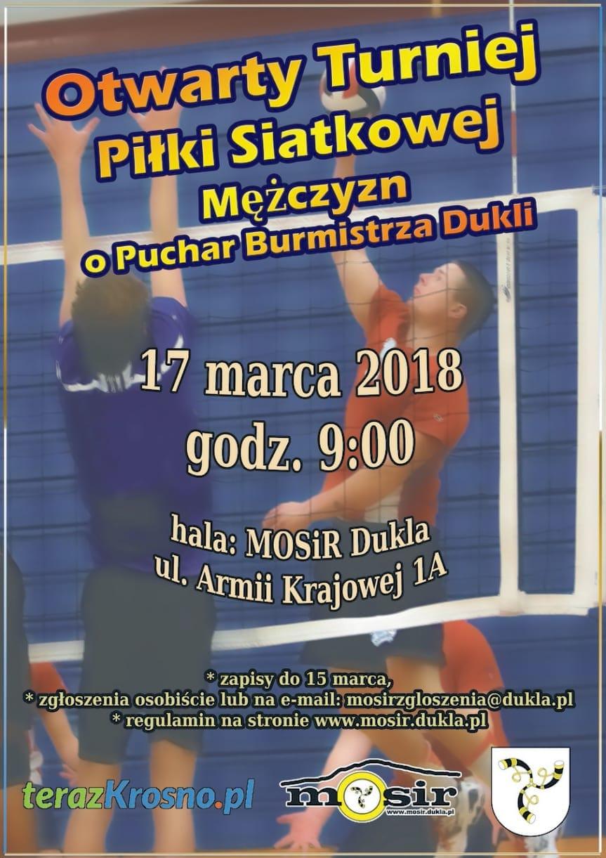 Otwarty Turniej Piłki Siatkowej Mężczyzn o Puchar Burmistrza Dukli
