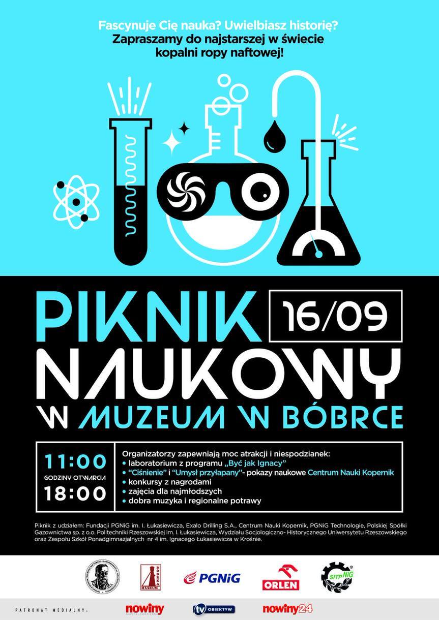 Piknik Naukowy w Muzeum w Bóbrce