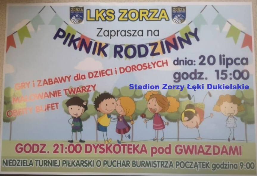 Piknik Rodzinny w Łękach Dukielskich