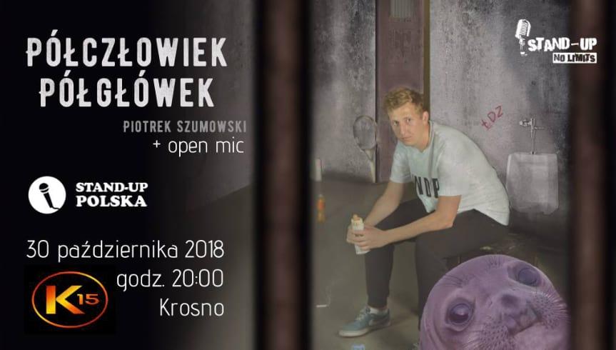 """Piotrek Szumowski w programie """"Półgłówek, Półczłowiek"""""""