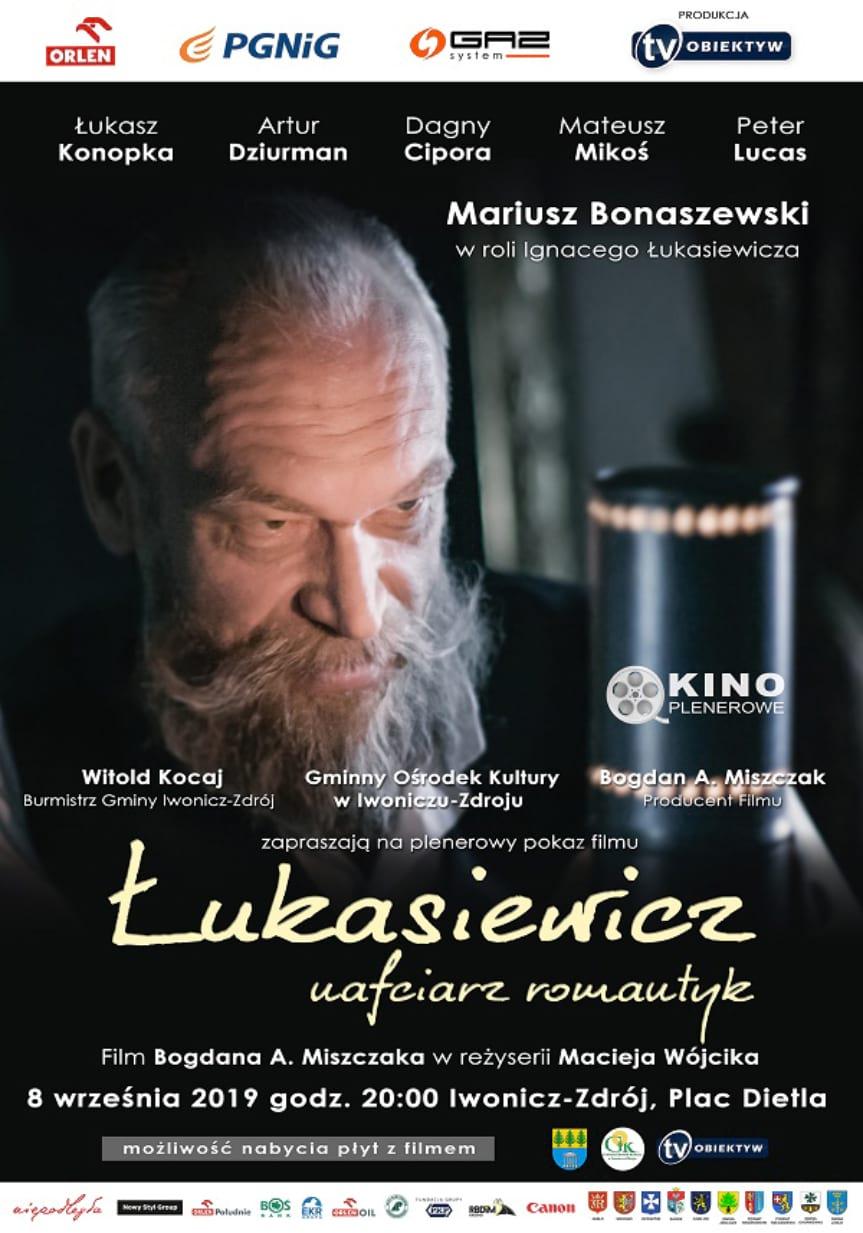 Plenerowy pokaz filmu Łukasiewicz nafciarz romantyk