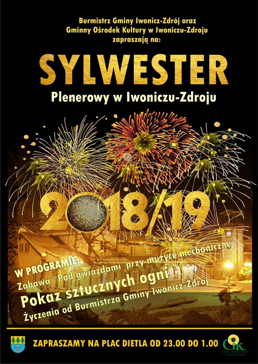 Plenerowy Sylwester w Iwoniczu-Zdroju