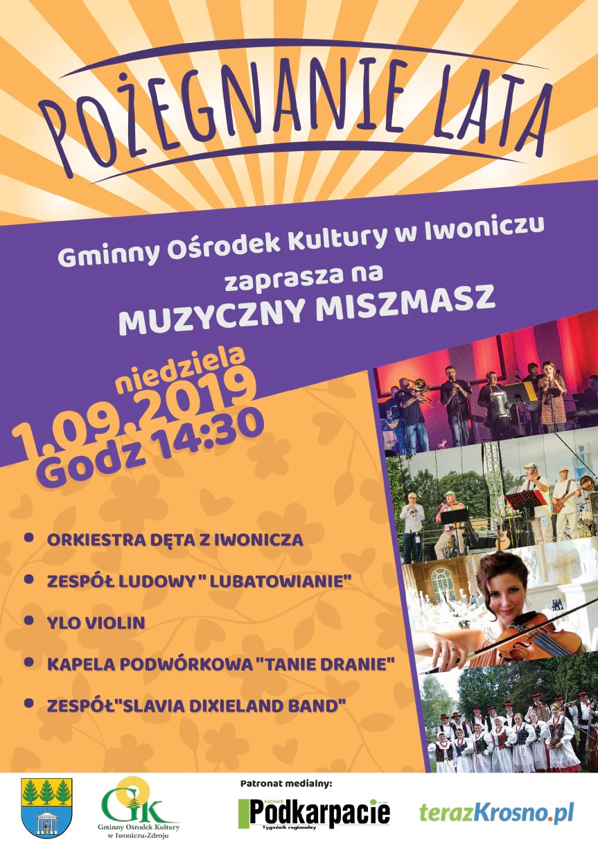 Pożegnanie lata w Iwonicz-Zdroju Muzyczny Miszmasz