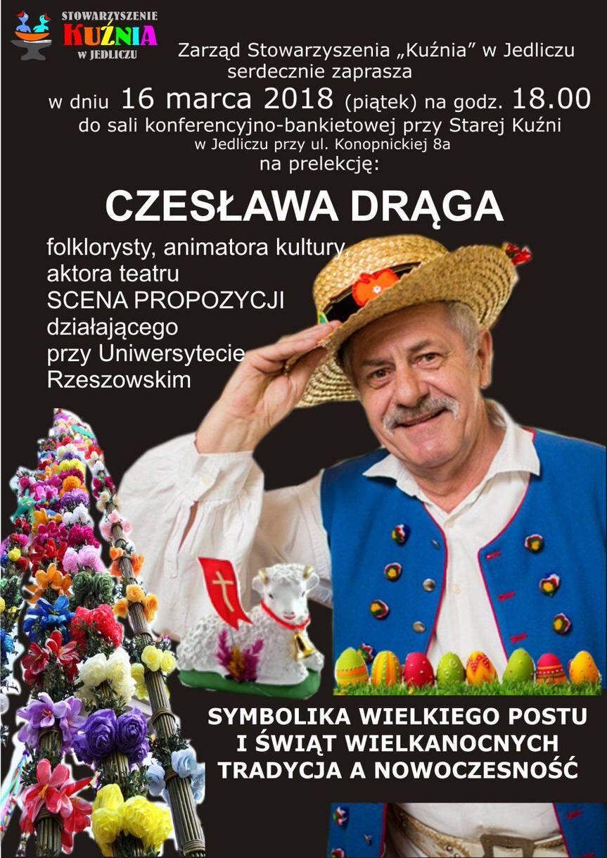 Prelekcja Czesława Drąga w Starej Kuźni