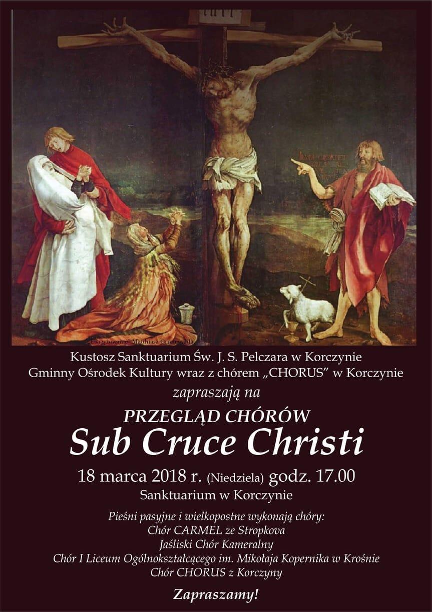 Przegląd Chórów Sub Cruce Christi w Korczynie