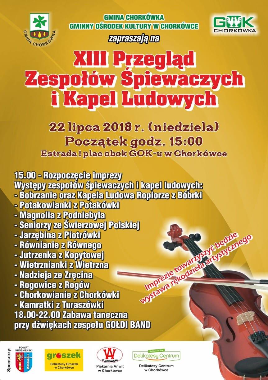 XIII Przegląd Zespołów Śpiewaczych i Kapel Ludowych