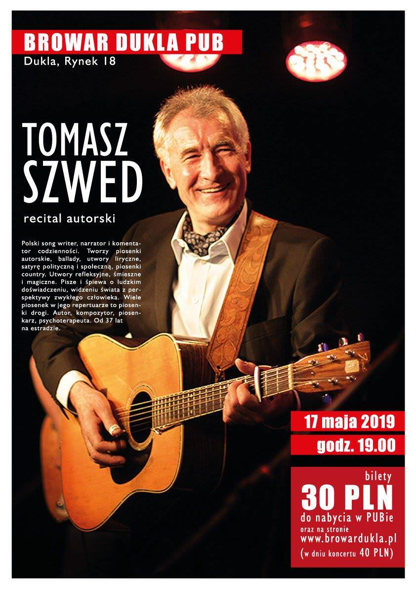 Recital autorski Tomasza Szweda
