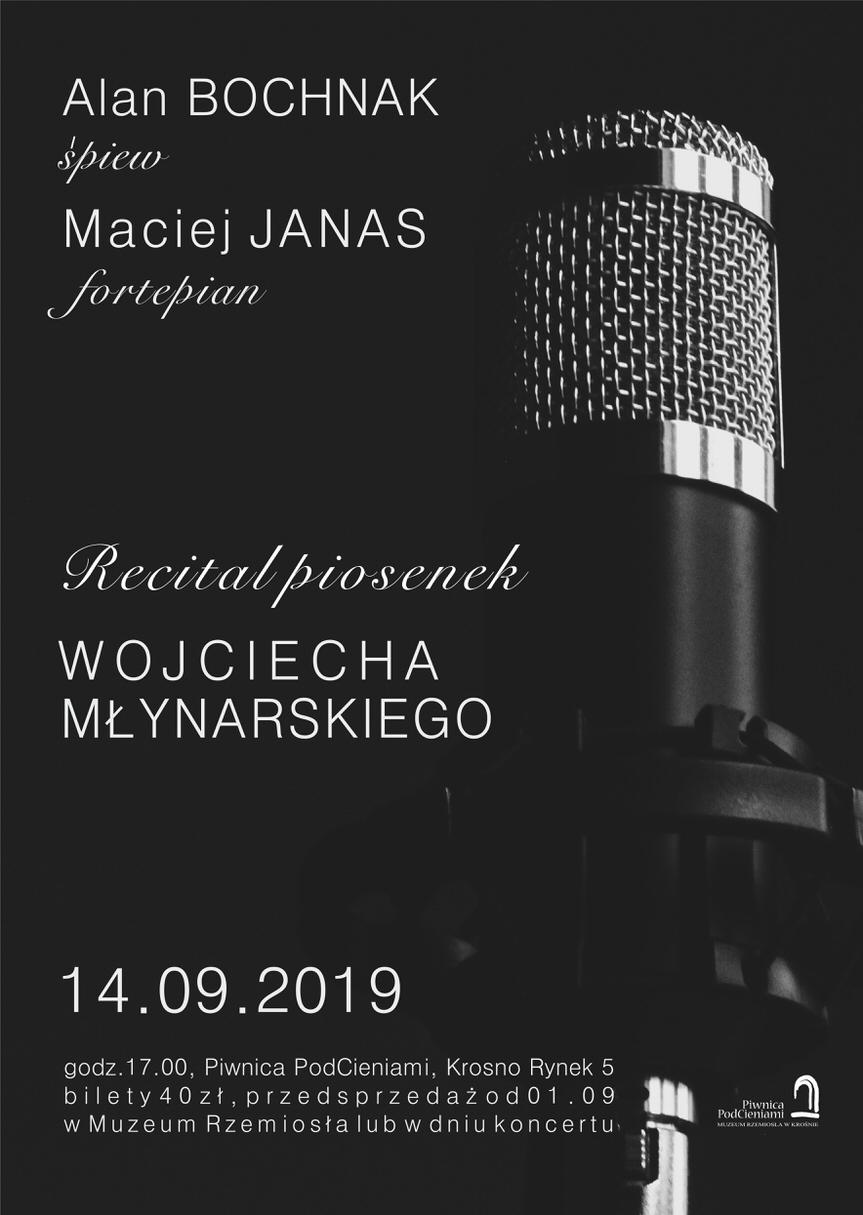 Recital piosenek Wojciecha Młynarskiego