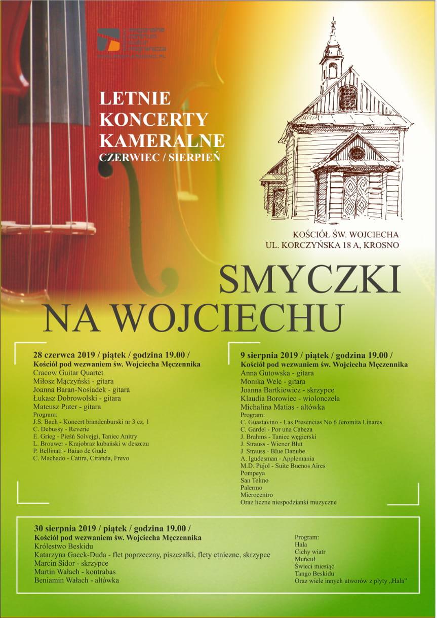Smyczki na Wojciechu - letnie koncerty kameralne
