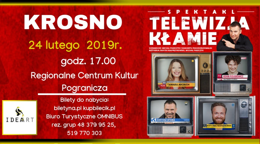 Spektakl Telewizja Kłamie
