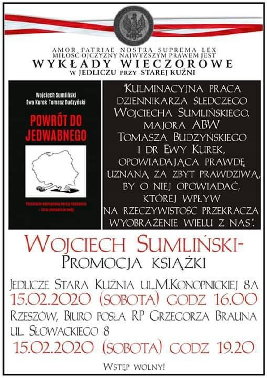 Spotkanie autorskie w Wojciechem Sumlińskim