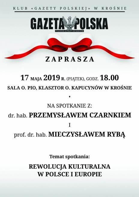 """Spotkanie Klubu """"Gazety Polskiej"""""""