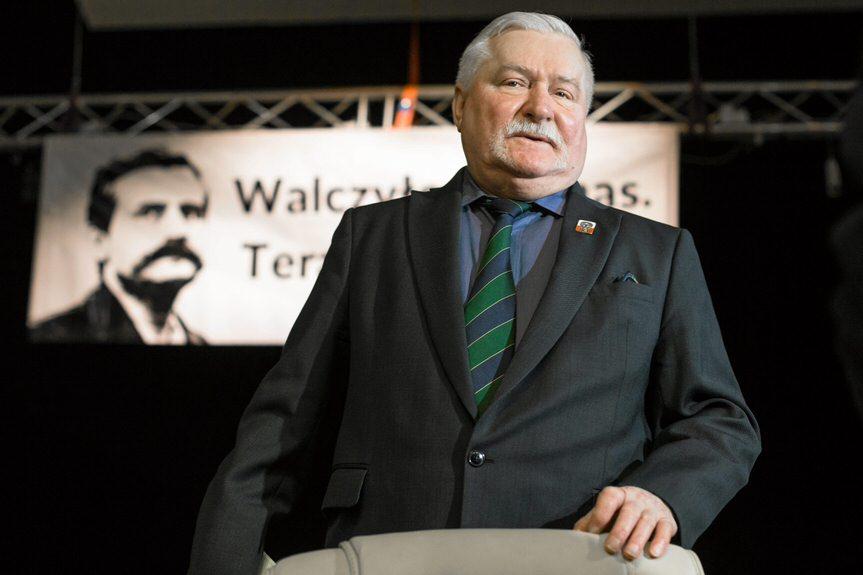 Lech Wałęsa w Krośnie
