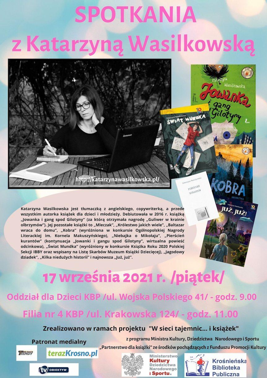 Spotkanie z Katarzyną Wasilkowską