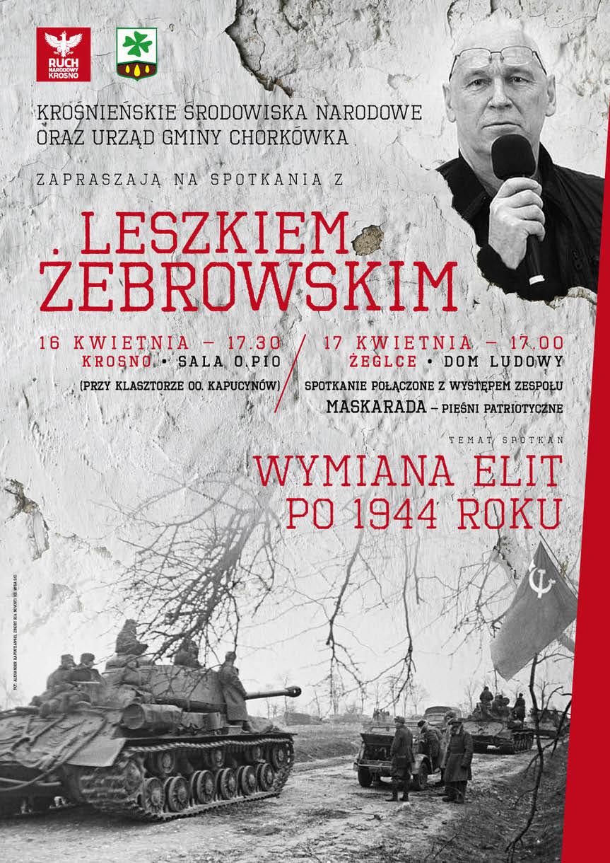 Spotkanie z Leszkiem Żebrowskim w Żeglcach