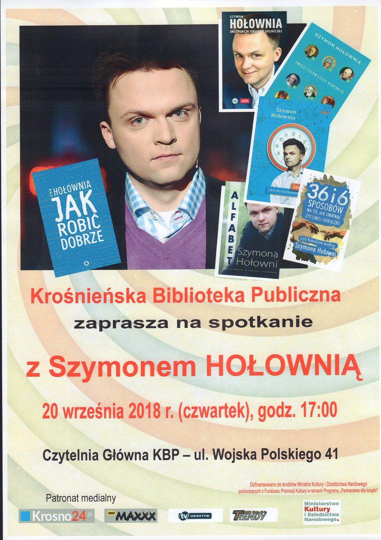 Spotkanie z Szymonem Hołownią