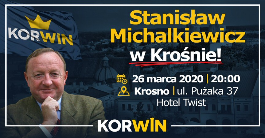 Spotkanie ze Stanisławem Michalkiewiczem w Krośnie