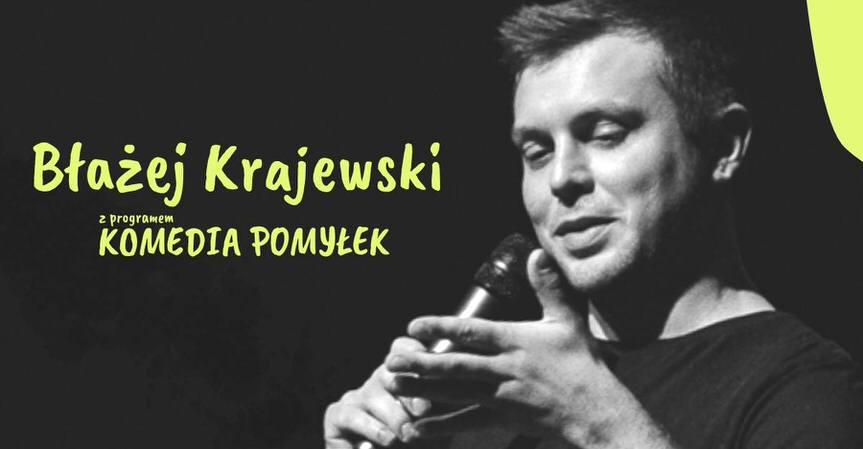 Stand-up No Limits w Krośnie: Błażej Krajewski