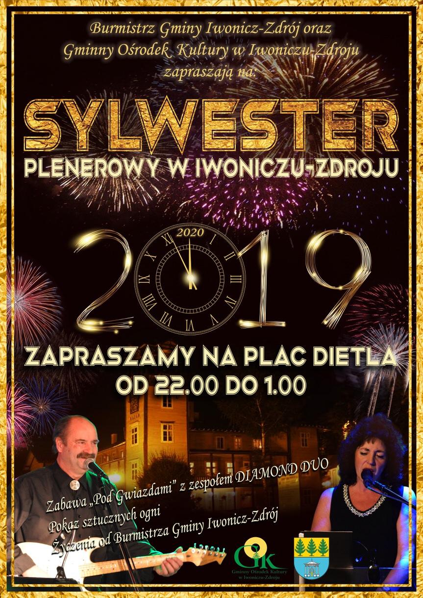 Sylwester Plenerowy w Iwoniczu-Zdroju