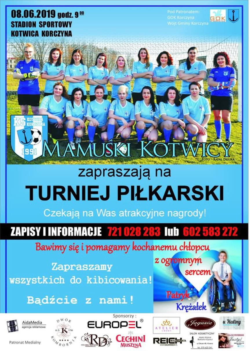 Turniej piłkarski w Korczynie