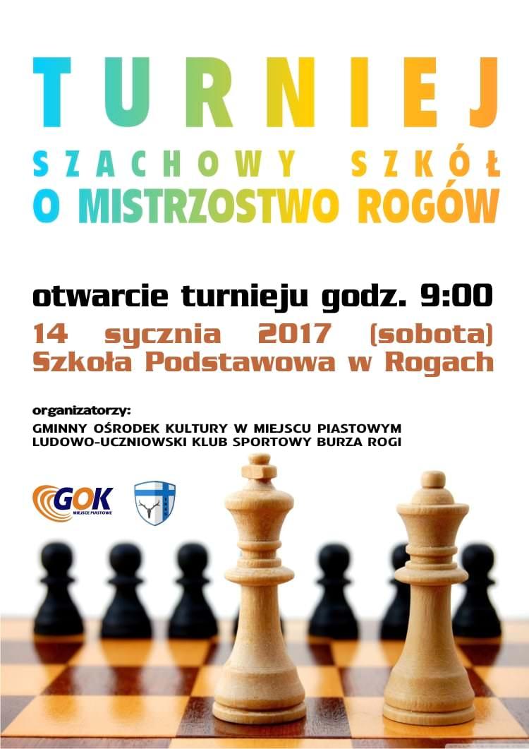 Turniej Szachowy Szkól o Mistrzostwo Rogów