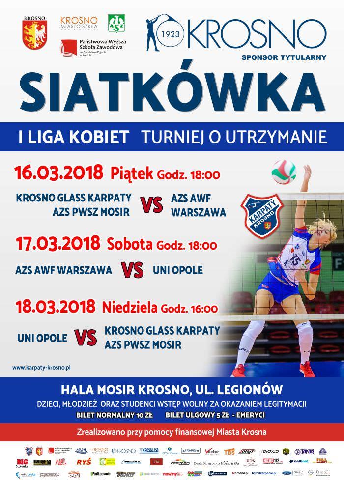 UNI Opole - Krosno Glass Karpaty AZS PWSZ MOSiR