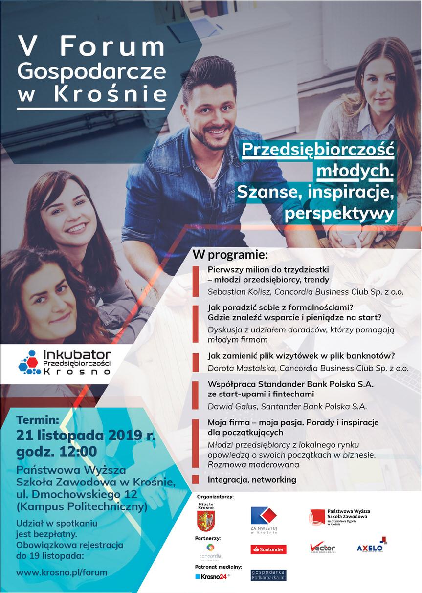 V Forum Gospodarcze w Krośnie