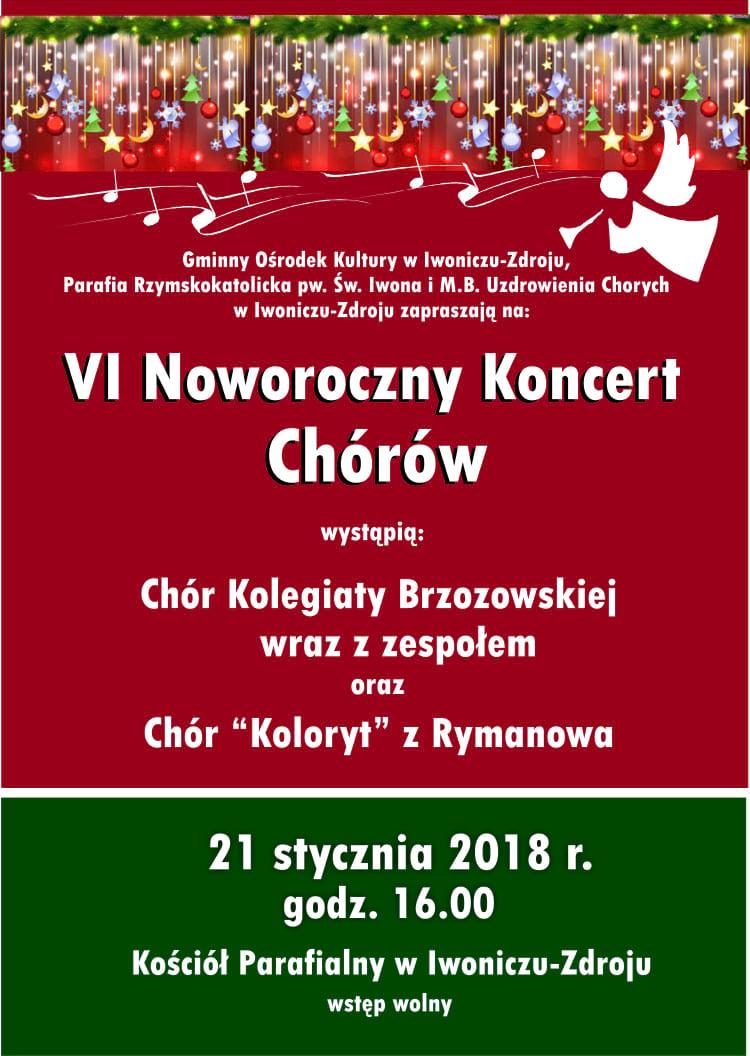 VI Noworoczny Koncert Chórów