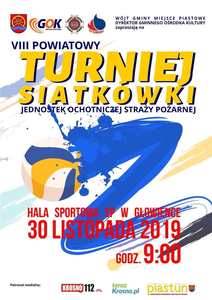 VIII Powiatowy Turniej Siatkówki jednostek OSP