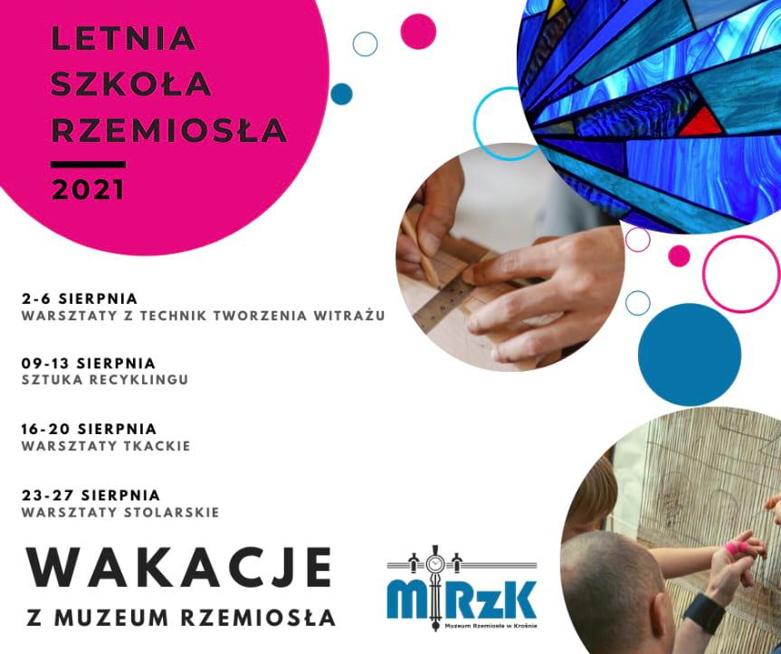 Wakacje z Muzeum Rzemiosła w Krośnie - Warsztaty z technik tworzenia witrażu